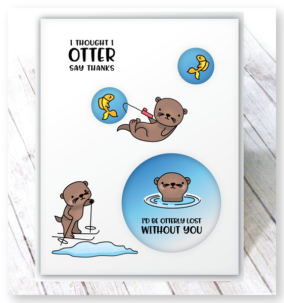 Otterly Lovable Die Set