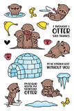 Otterly Lovable Stamps