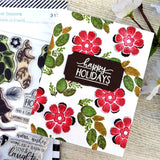 Cardinal Seasons - Petal Pusher Stamps