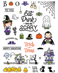 Happy Haunting stamp set