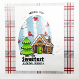 Candy Cane Lane Stamps