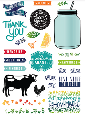 Homegrown With Love Stamps
