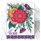 Crazy for Daisies Stamps - Wholesale