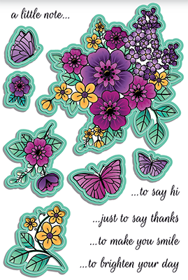 A2 Stitched Layered Card Toppers Die Set