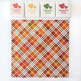 Plaid - 6x6 Stencil - Wholesale