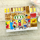 City Sidewalks Coordinating Die Set - Wholesale