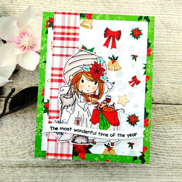 Christmas Wishes Sentiment Stack - Wholesale