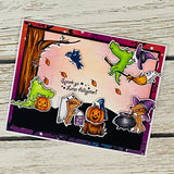 Haunted Halloween - 6x6 Paper