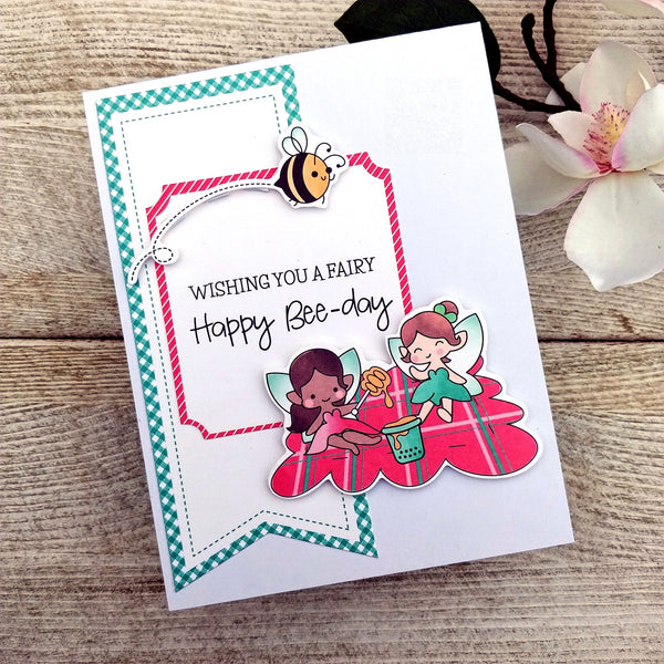 Fairy Fun Cards - Die-Cut Card Kit