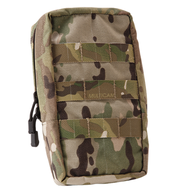 Zipper 4×8 Vertical Utility Pouch