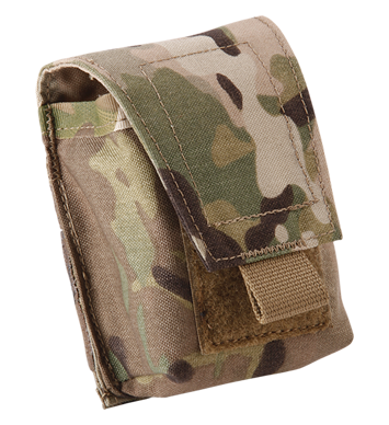 VELCRO® Flap Stacked Handcuff Pouch