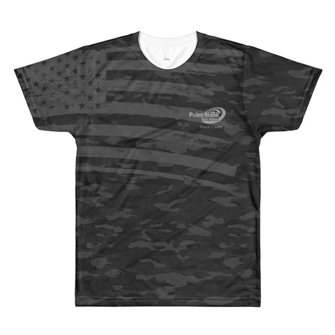 Point Blank Black Camo T-Shirt