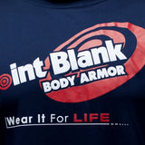 Point Blank Body Armor Navy Blue T-Shirt