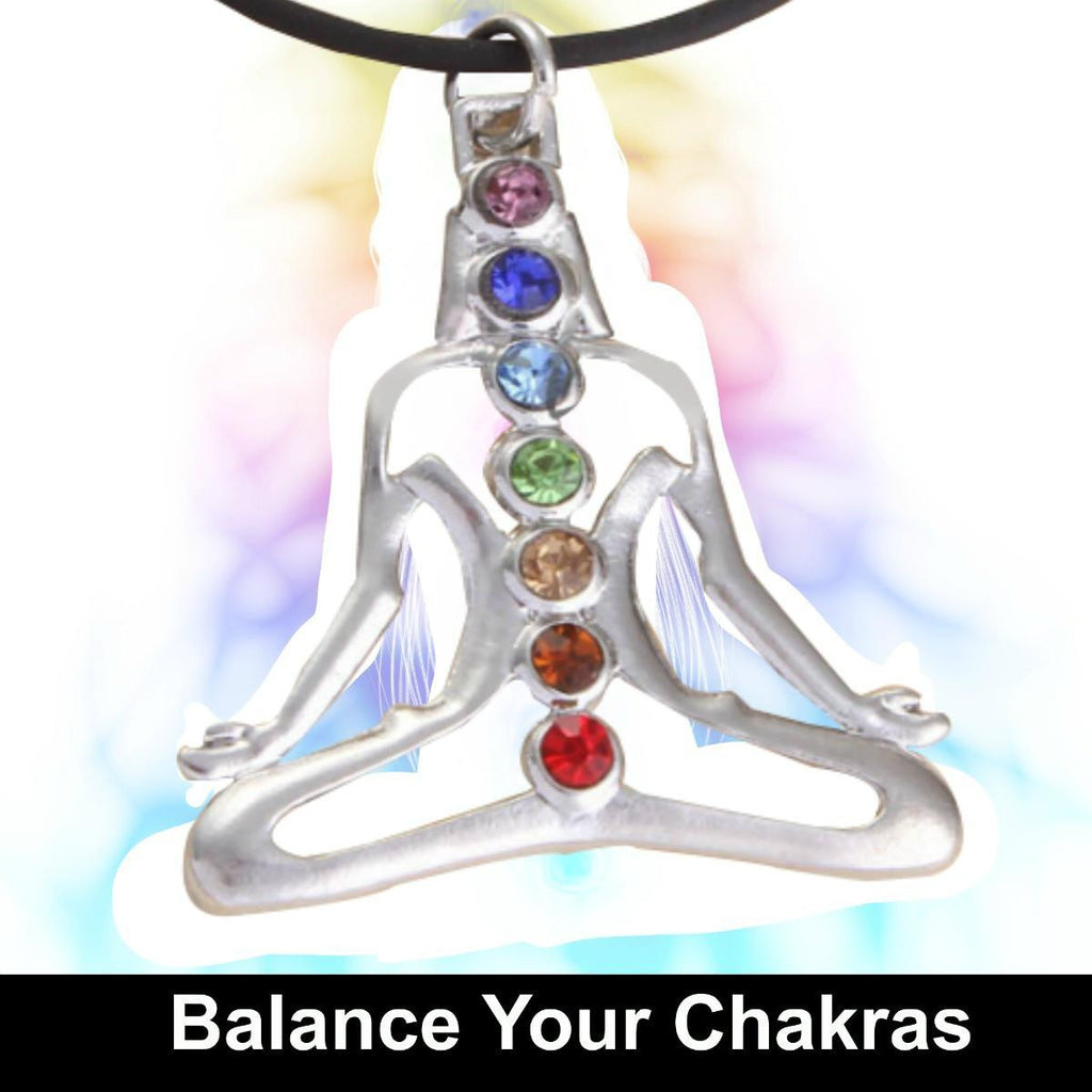 Positive Energy Chakra Healing Necklace