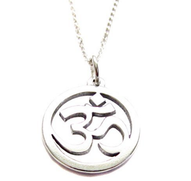 "SACRED OM ""Enlightenment"" Yoga Necklace"