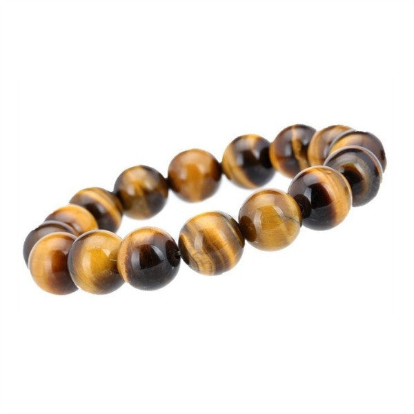 Pure Courage Tiger Eye Genuine Buddha Bead Bracelet