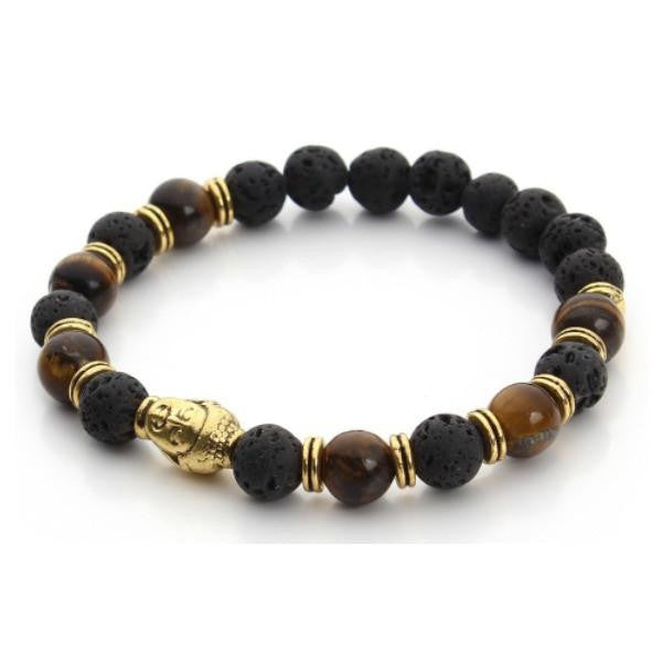 Deeply Grounded BOLD Energy Buddha Bracelet