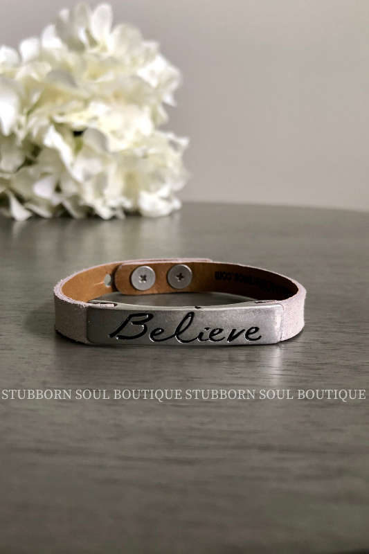 Life Inspiration - Galaxy - Believe (Clearance) Bracelet Stubborn Soul Boutique