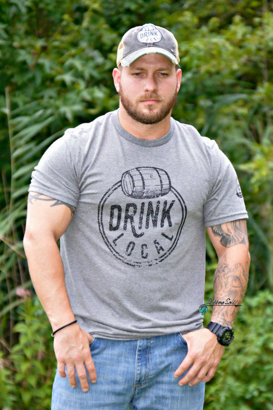 Drink Local Vintage Steel Tee Graphic Stubborn Soul Boutique