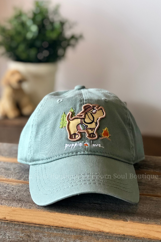 Puppie Love Camping Hat Stubborn Soul Boutique