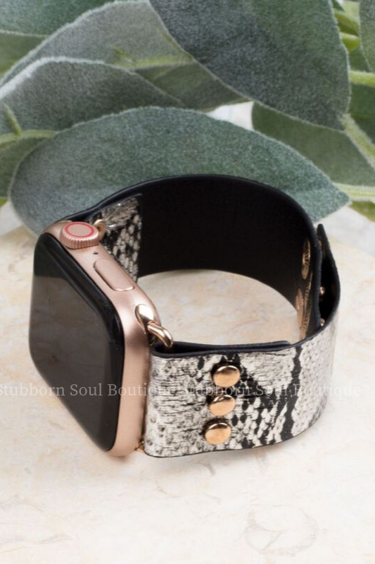 Snake Rattle & Roll Smart Watch Band (Clearance) Watch Band Stubborn Soul Boutique