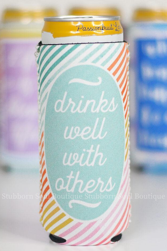 Drinks Well With Others Slim Can Cooler