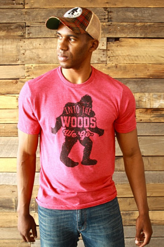 BigFoot Vintage Red Tee Stubborn Soul Boutique