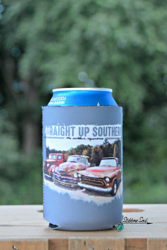 Straight Up Southern - Rusted & Trusted Koozie Koozie Stubborn Soul Boutique