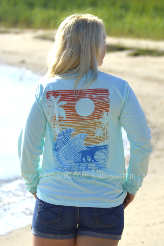 SPF50 Seagrass Paradis Buddy By The Sea Long Sleeve Buddy By The Sea