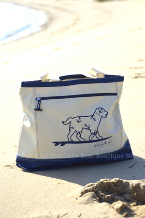 Buddy By The Sea Tote Bag Stubborn Soul Boutique