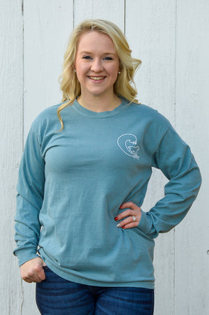 San Fran Paisley Long Sleeve Buddy By The Sea Tee Stubborn Soul Boutique