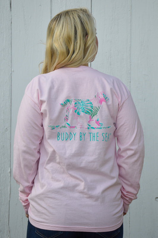 Key West Long Sleeve Buddy By The Sea Tee Stubborn Soul Boutique