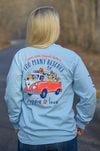 Puppie Love Rescue Bus Long Sleeve Tee Ladies Top Stubborn Soul Boutique
