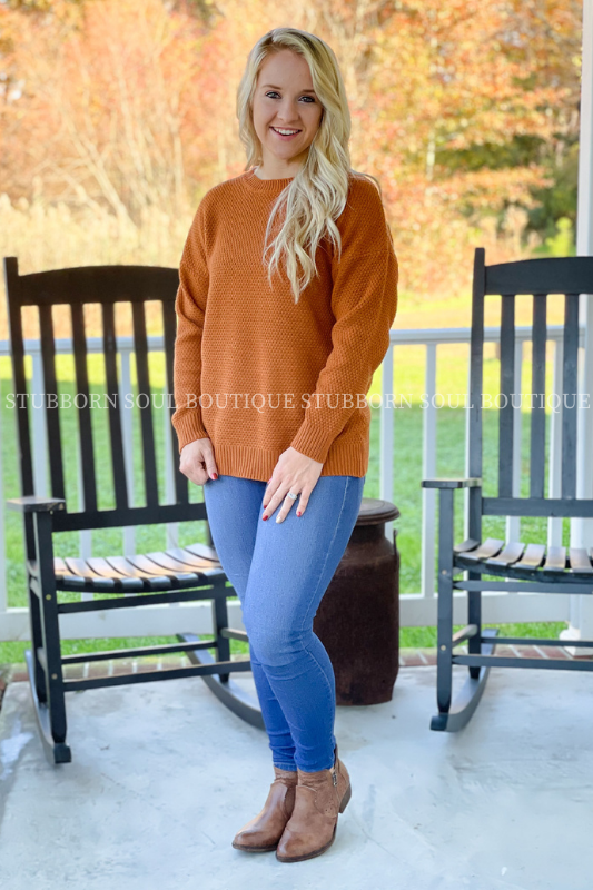 Willow Sweater in Almond