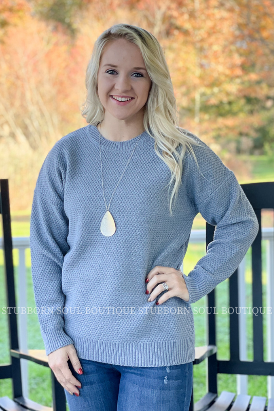 Willow Sweater in Grey