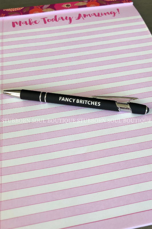 Fancy Britches Pen Pens Stubborn Soul Boutique