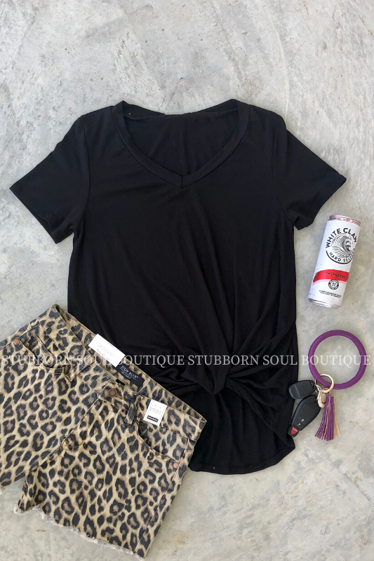 Stubborn Soul Boutique Black Tee