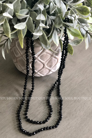 "Beaded Necklace 28"" (Clearance) Necklace Stubborn Soul Boutique"