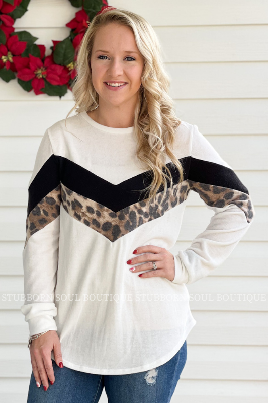 Freya Color Block Top