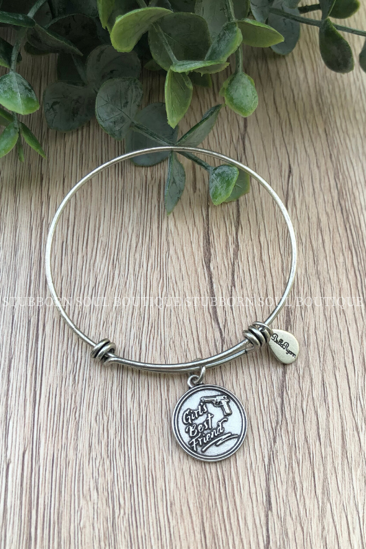 Girl's Best Friend Charm Bracelet Bracelet Stubborn Soul Boutique