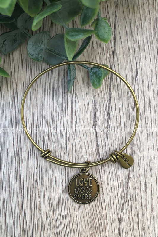 Love You More Charm Bracelet (Clearance) Bracelet Stubborn Soul Boutique