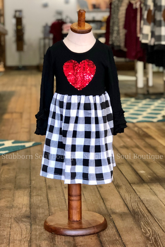 KIDS: Cross My Heart Dress (Clearance)