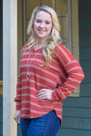 Avery Striped Long Sleeve Top