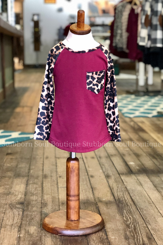 KIDS: Wild Child Leopard Top