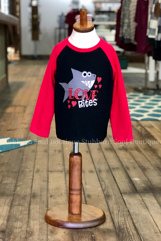 KIDS: Love Bites Shirt (Clearance) Boys Shirt Stubborn Soul Boutique