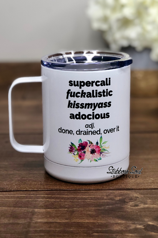 SuperCali Cup Drinkware Stubborn Soul Boutique