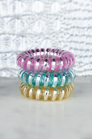 Macaron Mini Set Hotline Hair Ties Stubborn Soul Boutique