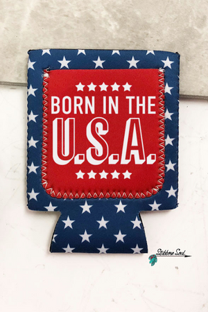 Born in the USA Can Cooler Stubborn Soul Boutique