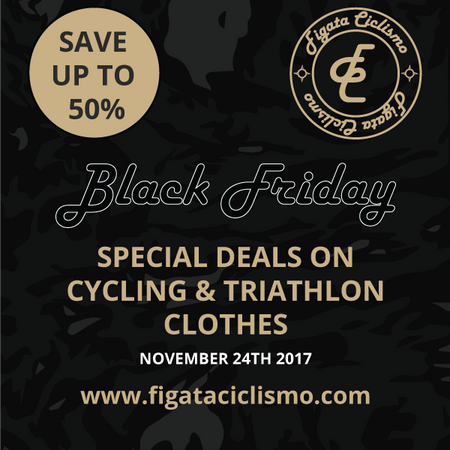 Black Friday 2017 // Save up to 50% on our Cycling Clothes