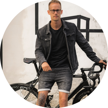 Anders Berendt - Designer of cycling clothes